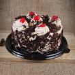 Black Forrest Cake. — Stock Photo