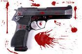 Abstract pistol. — Stock Photo