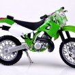 Green Dirtbike. — Stock Photo #14550111
