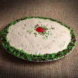 Peppermint Tart. — Stock Photo