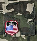 USA Badge. — Stock Photo