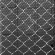 Steel and black plastic net, background pattern — Stock Photo