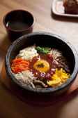 "Korean food ""bibimba"" — Stock Photo"