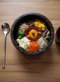 Bibim-ba Korean Food — 图库照片