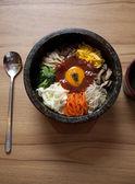 Nourriture coréenne bibim-ba — Photo