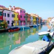 Royalty-Free Stock Photo: Burano Island in Venice. Tourism in Europe.