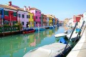 Burano Island in Venice. Tourism in Europe. — Stock Photo