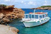 Boat. Ibiza island. — Stock Photo