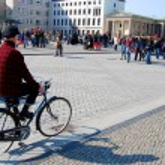 ������, ������: Man on bicycle