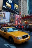 Taxi in New York. — Stock Photo