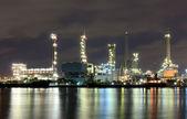 Fábrica de refinería de aceite — Foto de Stock