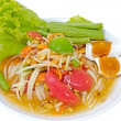 Hot Meat Dishes Set 12/16 - Thai spicy salad - Stock Photo