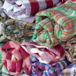 Stock Photo: Colorful asifabric loincloth