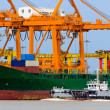 Stock Photo: Bangkok Port or Port Authority of Thailand