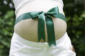 Tanrım, hamile anne hediyesi — Stok fotoğraf
