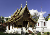 Wat Phra Sing Temple in Chiang Mai Thailand — Stock Photo