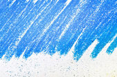 Blue painted canvas abstract background — Stock Photo