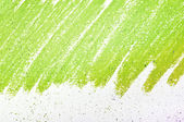 Green painted canvas abstract background — Stock Photo