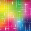 Vector abstract background - colorful rainbow grid — Stock Vector #26413655