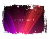 Purple vector background with grungy border — Stock Vector