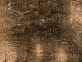 Dirty old paper with grungy paint background — Stock Photo