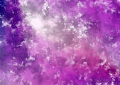 Abstract purple grungy watercolor paint background — Stock Photo