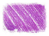 Purple abstract hand painted background texture with grungy weathered border — Stock Photo