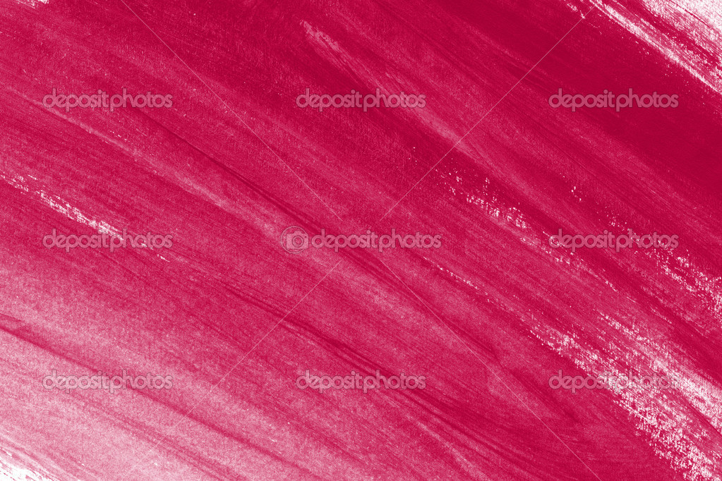 Pink Hand Painted Brush Stroke