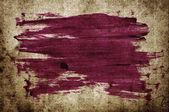 Pique de traçado roxo escova abstratos pintados à mão sobre vintage grungy manchado papel velho — Fotografia Stock