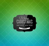 Wektor kartkę z życzeniami christmas — Wektor stockowy