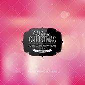Vector christmas greeting card — Stock Vector