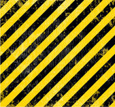 Warning industrial grungy vector background. — Stockvektor