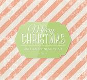 Рождество вектор поздравительных открыток. — Cтоковый вектор