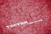 Vector worn out red rusty grungy paper - leather texture — Stock Vector