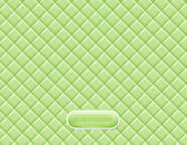 Vector light green vinyl upholstery padded glossy background — Stock Vector