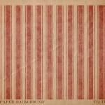vintage Vector agotado tarjeta de papel con estampado geométrico rayas rojo agotado — Stockvector  #36625201