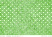 Vector vintage worn out green dotted pattern print background — Stock Vector