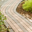 Garden pathway — Stock Photo