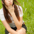 Foto Stock: Blowing Kiss