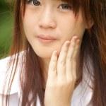 bella ragazza asiatica — Foto Stock