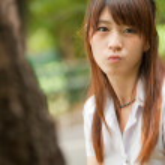 güzel Asyalı kız — Stok fotoğraf