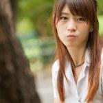 hermosa chica asiática — Foto de Stock