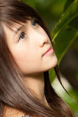 Beautiful Asian girl — Stock Photo