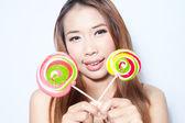 棒棒糖 — 图库照片