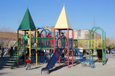 Children on playground — Stock Photo