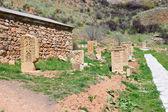 Armênio khatchkars, cruz-pedras — Foto Stock