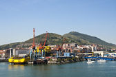 Puerto industrial — Stock Photo