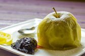 Baked apple — Stock Photo
