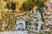 Nativity Scene in Sestola Modena Italy — Stock Photo