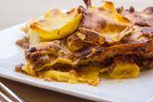 Lasagne bolognesi — Stock Photo
